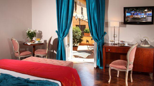 Vivaldi-hôtel-Rome-chambre-élégance-03